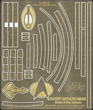 Star Trek: Deep Space 9 Window Drilling Template Photo-Etch Set for AMT #PGX169