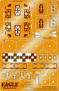 Paragrafix Modeling Systems  1/72 Space 1999: Eagle 1 Transporter Photo-Etch Set for MPC PGX177