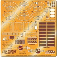 Paragrafix Modeling Systems  1/32 Star Trek: USS Enterprise Bridge Photo-Etch Set for AMT PGX178