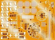 Paragrafix Modeling Systems  1/72 Star Wars: Millennium Falcon Photo-Etch Set for FNM & RMX PGX180