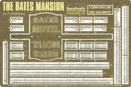 Paragrafix Modeling Systems  1/87 Bates Mansion Photo-Etch Set for PLL PGX190