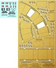 Paragrafix Modeling Systems  1/43 DeAgostini Millennium Falcon Corridors Photo-Etch & Decal Set PGX197