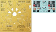 Paragrafix Modeling Systems  1/43 DeAgostini Millennium Falcon Gun Port Photo-Etch & Decal Set PGX198