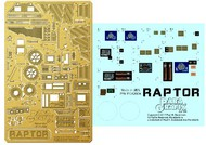 Paragrafix Modeling Systems  1/32 Battlestar Galactica: Raptor Photo-Etch & Plastic Film Set for MOE PGX207