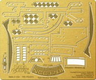 Paragrafix Modeling Systems  1/537 Star Trek: USS Enterprise NCC1701 Refit Window Templates Photo-Etch Set for AMT PGX213