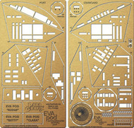 Paragrafix Modeling Systems  1/8 2001 Space Odyssey: ECA Pod Photo-Etch Set PGX220