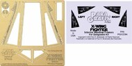DeAgostini X-Wing Fighter Internal Window Photo-Etch & Decal Set #PGX229