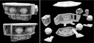 Paragrafix Modeling Systems  1/350 2001 Space Odyssey: EVA Pod 3D Printed Clear Resin Parts for MOE PGX235