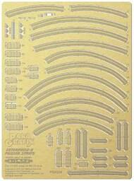 Paragrafix Modeling Systems  1/1400 Star Trek: USS Enterprise D Phaser Strips Photo-Etch Set PGX238