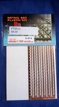 Part Accessories  1/350 Railing 1/350 (2 lines) PTX014