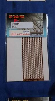 Part Accessories  1/400 Railing 1/400 (bend lines) PTX019