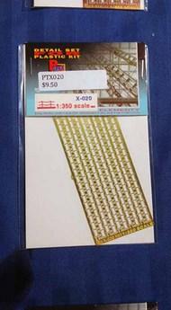 Part Accessories  1/350 Railing 1/350 (bend lines) PTX020