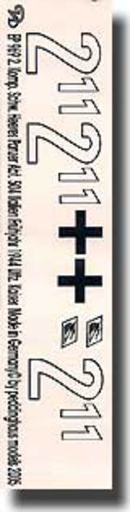 Peddinghaus-Decals  1/16 2. Komp. 504 Italien Fruhjahr 1945 Uffz. Kaiser PDH0969