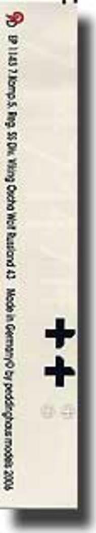 Peddinghaus-Decals  1/16 Panther 7. Komp. 5. Reg. b Div. Viking Oscha Wolf Rubland 43 PDH1143