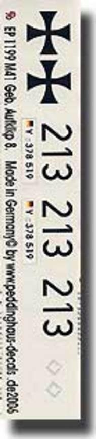 Peddinghaus-Decals  1/16 M41 German bundeswehr Pz Aufklkp 8 PDH1199
