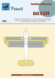 Peewit  1/144 Avia B-534 Paint Masks PEE143002