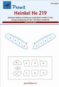 Peewit  1/144 Heinkel He 219 (Mk1) PEE144001