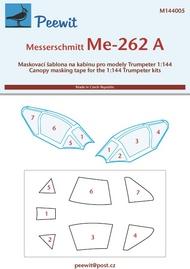 Peewit  1/144 Messerschmitt Me 262A-1a (TRP) PEE144005