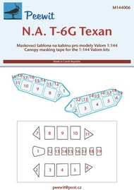 Peewit  1/144 North-American T-6G Texan (VAL) PEE144006