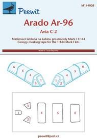 Peewit  1/144 Arado Ar-96B/Avia C-2 (MK1) PEE144008