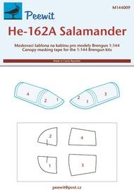 Peewit  1/144 Heinkel He.162A Salamander (BRP) PEE144009