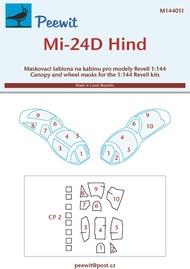 Peewit  1/144 Mil Mi-24D Hind (RVL) PEE144011