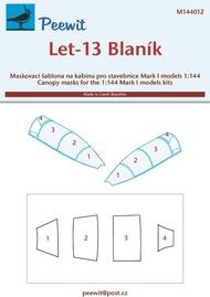 Peewit  1/144 Let L-13 Blanik (MK1) PEE144012
