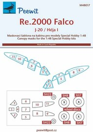Reggiane Re.2000 Falco/J-20/H-1 #PEE48017