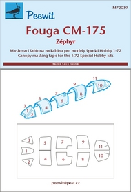 Fouga CM-175 Zephyr (SPH) #PEE72039
