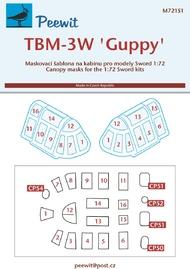 Grumman TBM-3W 'Guppy' (designed to be used with Sword kits) #PEE72151