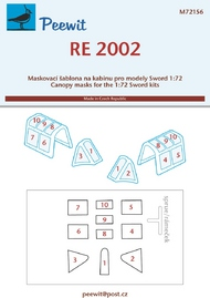 Reggiane Re.2002 (designed to be used with Sword kits) #PEE72156