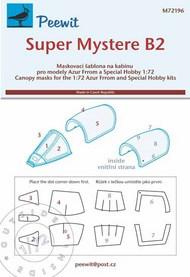 Super Mystere B.2 masks #PEE72196