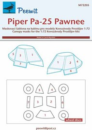 Piper Pa-25 Pawnee Mask #PEE72205