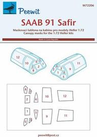 SAAB 91 Safir Mask #PEE72206