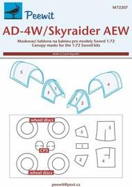 Douglas AD-4W/AEW.1 Skyraider Mask #PEE72207