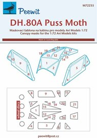 de Havilland DH-80A Puss Moth #PEE72235