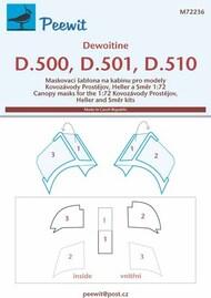 Dewoitine D.500, D-501, D-510 #PEE72236