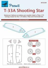 Lockheed T-33A Shooting Star #PEE72238