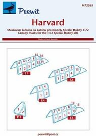 North-American Harvard Mk.II/III/IV paint masks #PEE72265