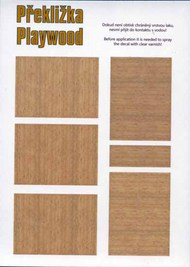 Plywood - Birch (Lighter variant for new aircraft) #PEE74003