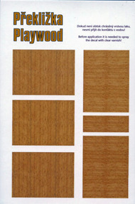 Plywood - Birch (Darker variant for older aircraft) #PEE74004
