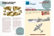 Supermarine Spitfire Mk.Vc Camouflage pattern paint masks #PEE77004