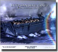 Pegasus Hobbies  1/72 LCVP Landing Craft W/Soldiers PGH7650