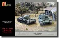 Pegasus Hobbies  1/72 KV-1 (Mod.1942) Soviet Heavy Tanks (2) (Snap Kit) PGH7666