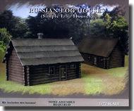 """Pegasus Hobbies  1/72 Russian """"IZBA"""" Log Houses PGH7703"""