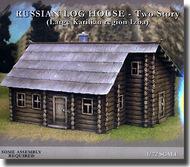 """Pegasus Hobbies  1/72 Russian """"IZBA"""" Log Houses- 2 Story PGH7704"""