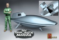 Pegasus Hobbies  1/18 My Favorite Martian: Uncle Martin & Spaceship PGH9012