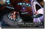 Pegasus Hobbies  1/32 Alpha Centauri UFOs Short Range Saucers (2) (Plastic Kit) PGH9102