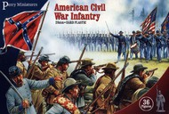 Perry Miniatures  28mm American Civil War Infantry (36) PEY101