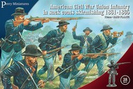 Perry Miniatures  28mm American Civil Union Infantry in Sack Coats Skirmishing 1861-1865 (38) PEY120